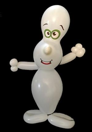 balloon animal ghost