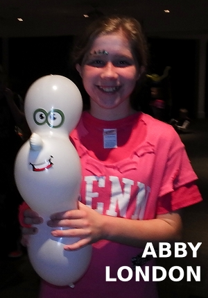 friendly ghost balloon