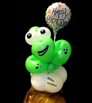 frog balloonanimal