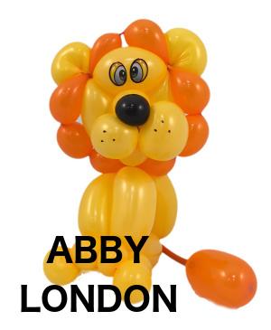 lion balloon animal