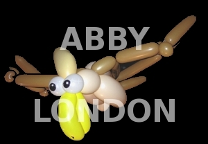 pterodactyl balloon animal