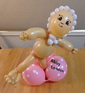 toddler balloon sculpture